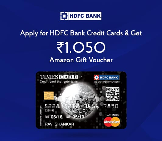 Apply For HDFC Credit Card: Get HDFC Credit Card Amazon Voucher Worth Rs. 1050