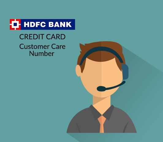 hdfc credit card customer care numbers