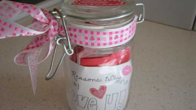 A cute 'I Love You' Jar