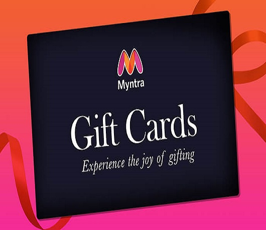 Myntra Gift Card for Endless Shopping