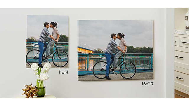 Romantic Canvas Prints to Brighten up your Man's Day