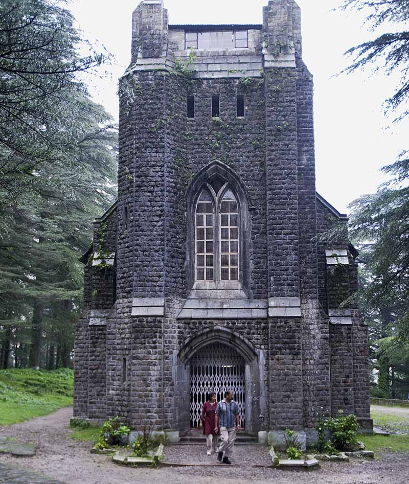 सेंट जॉन वाइल्डनेस चर्च, St. John in the Wilderness is one of the tourist places in dharamshala