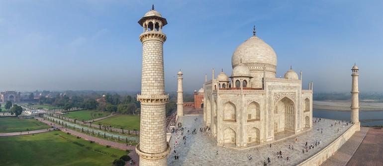 ताजमहल आगरा में जाने के लिए आश्चर्यजनक जगहें