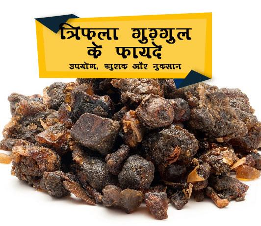 Triphala Guggul in Hindi त्रिफला गुग्गुल के फायदे: उपयोग, खुराक और साइड इफेक्ट्स