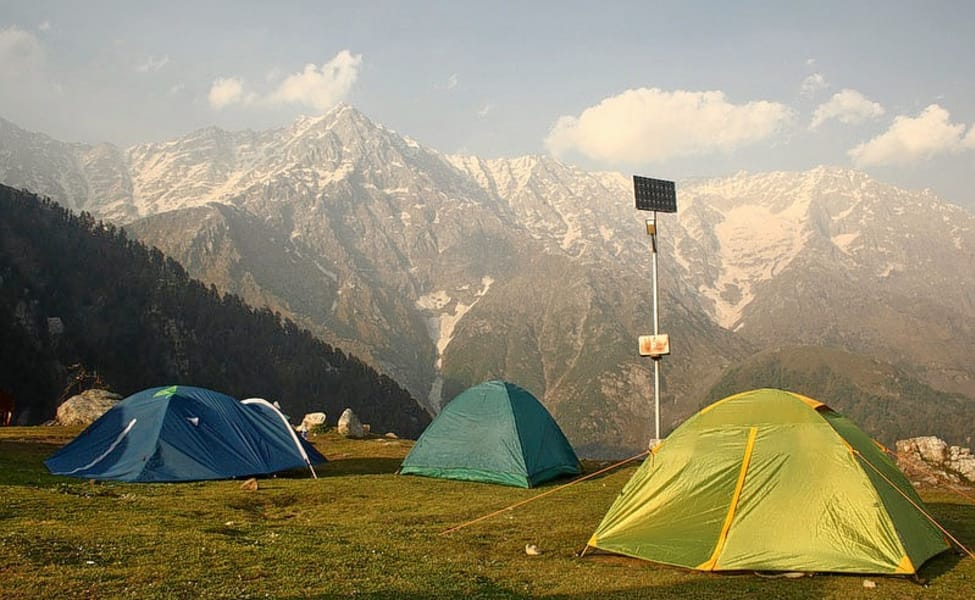 त्रिउंड , Triund is one of the tourist places in dharamshala