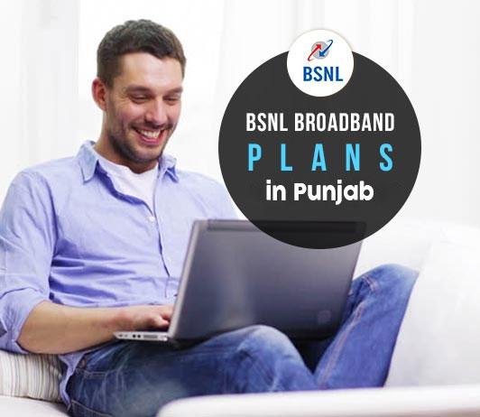 BSNL Broadband Plans in Punjab