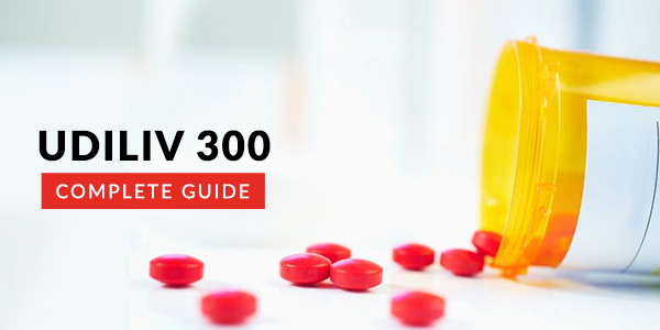 Udiliv 300 MG Tablet: Uses, Dosage, Side Effects, Price, Composition & 20 FAQs