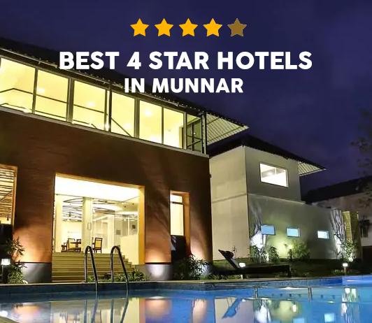 10 Best 4 Star Hotels in Munnar