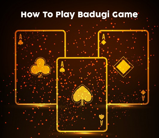 How to play Badugi game