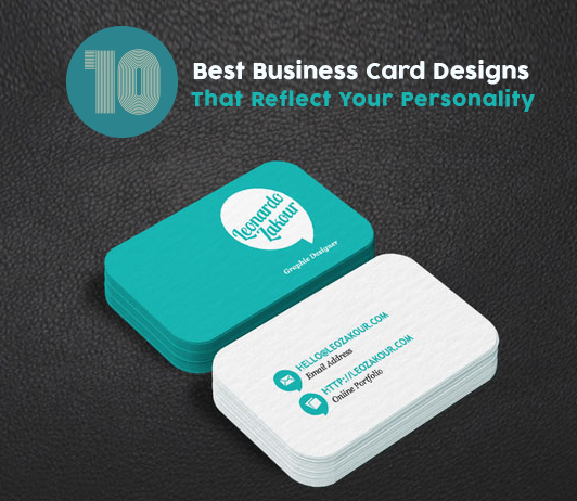 10 best business card designs that reflect your personality business card designs colourmoves