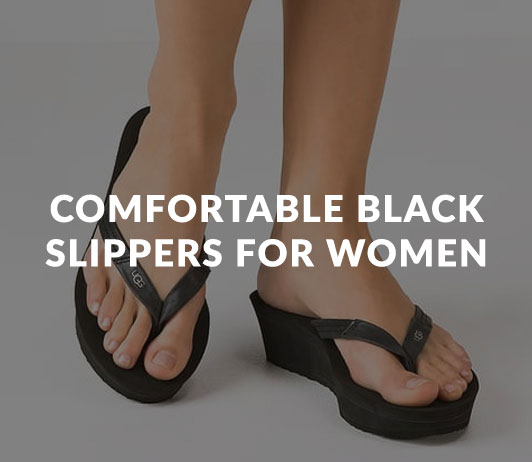 Comfortable_Black_Slippers_for_Women