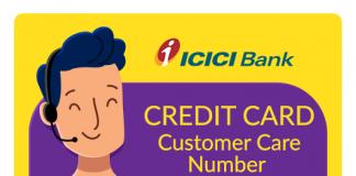 ICICI Credit Card Customer Care Number