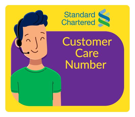 Standard Chartered Customer Care Number