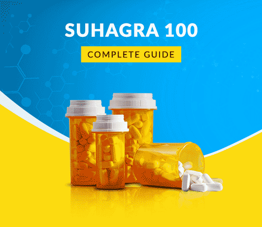 Suhagra 100 MG Tablet: Uses, Dosage, Price, Side Effects, Precautions & More