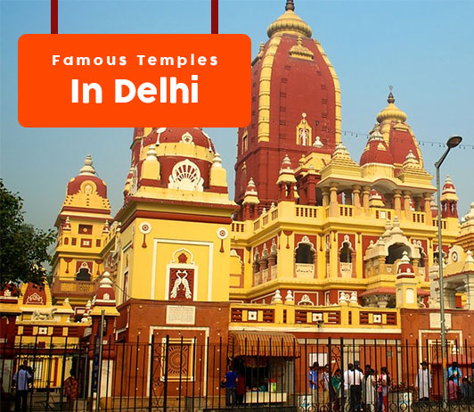Most famous temples in Delhi