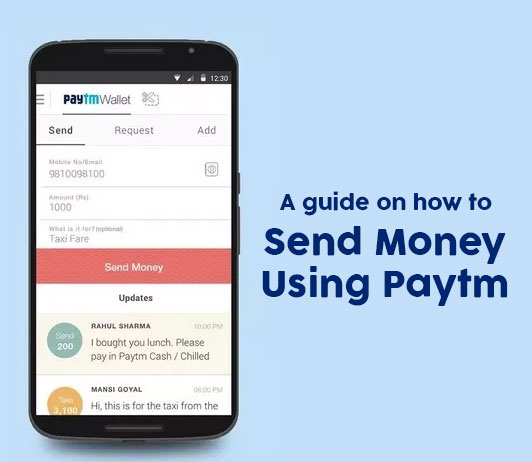 how to send money on Paytm