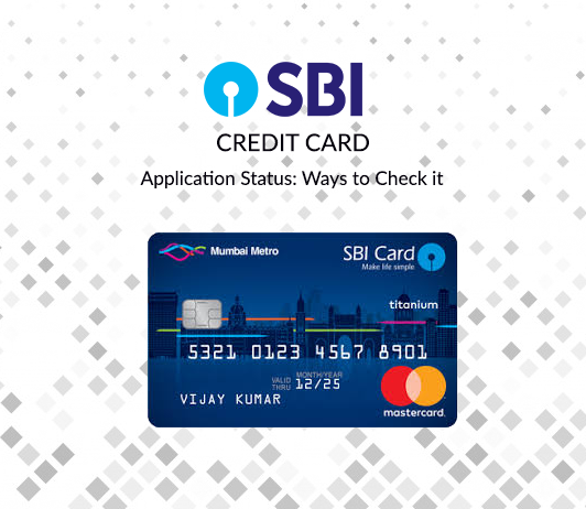 SBI Credit Card Application Status