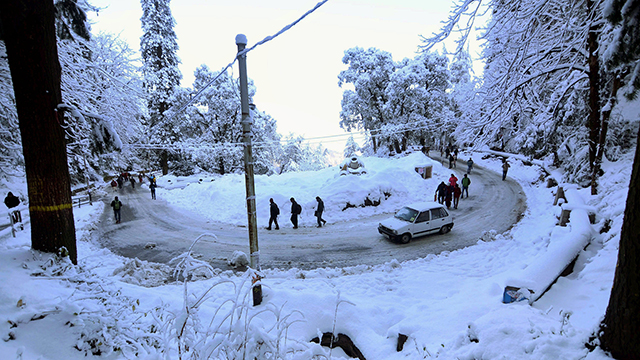 Shimla, Himachal Pradesh -  Commercial Hill Station in Himachal Pradesh