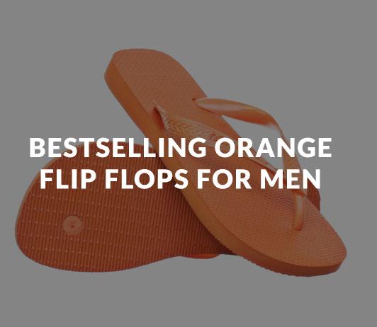 Bestselling_Orange_Flip_Flops_for_Men