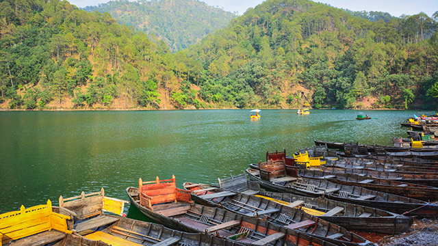 Bhimtal - Lake & Forrest Covered Nainital Hill Station