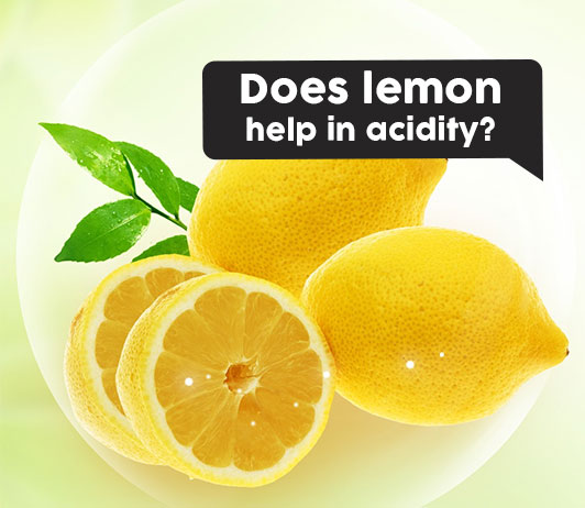 Does lemon help in acidity