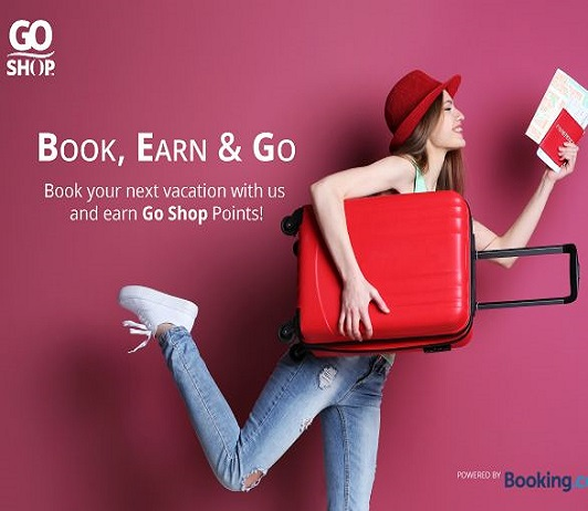 Go Shop partners with booking.com