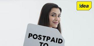 Idea Postpaid to Prepaid