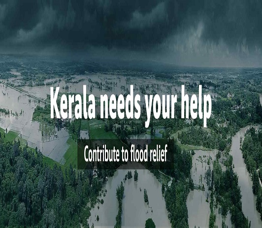 What major companies are doing to help Kerala in dire times