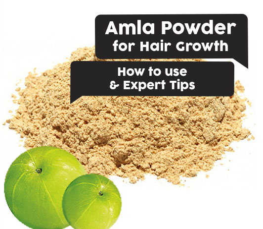 Amla Powder for Hair Growth How to use & Expert Tips