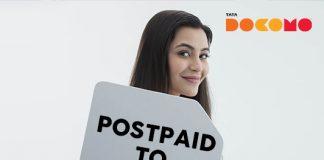 Tata Docomo postpaid to prepaid
