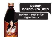 Dabur Dashmularishta Review, Best Price, Ingredients