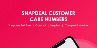 Snapdeal Customer Care Numbers: Snapdeal Helpline & Complaint No.