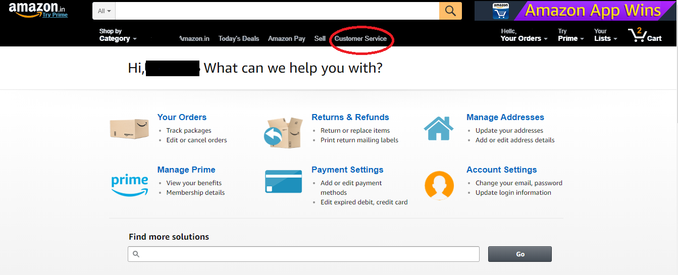 Amazon Customer Care Numbers: Amazon Toll Free Helpline Number & Contact Number