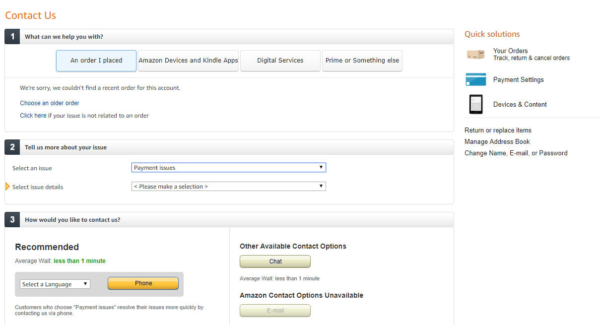 Amazon Customer Care Numbers, Amazon Toll Free Helpline Number & Contact Number