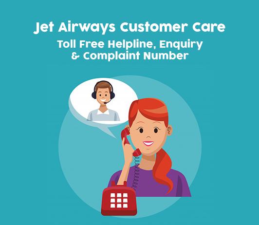 Jet Airways Customer Care Number: Jet Airways Complaint & Toll Free Helpline No.