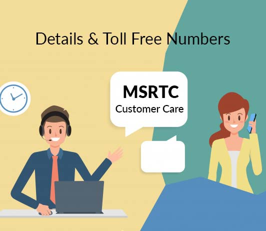 MSRTC Customer Care Number: MSRTC Contact, Complaint & Toll Free Helpline No.
