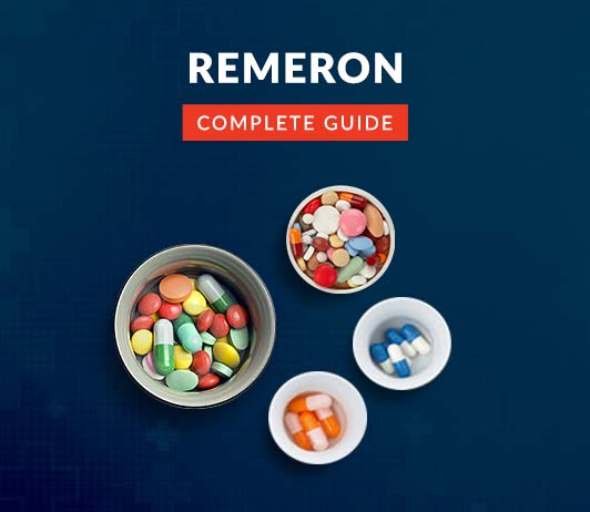 Remeron (Mirtazapine): Uses, Dosage, Price, Side Effects, Precautions & More