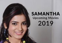 Samantha Upcoming Movies 2019 List: Best Samantha New Movies & Next Films