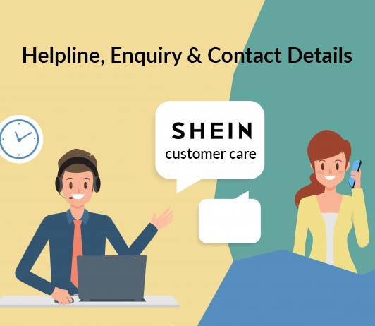 SheIn customer care: Helpline, Enquiry & Contact Details