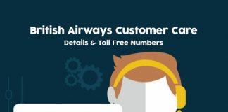 British Airways Customer Care Numbers, Toll free Helpline & Complaint No.