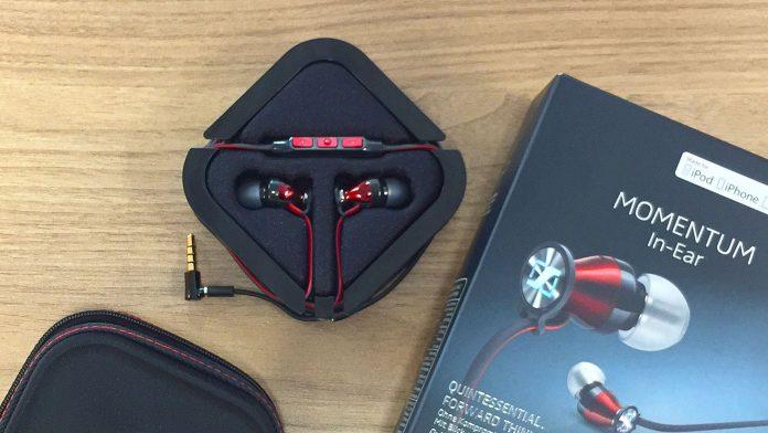 Sennheiser in ear MOMENTUM headphones