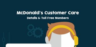 McDonalds Customer Care Numbers: McDonald's Helpline & Complaint No.