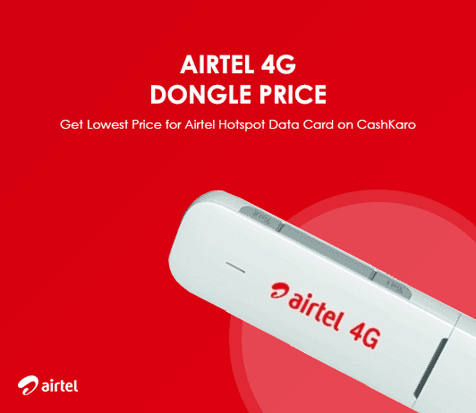 Airtel 4G Dongle Price