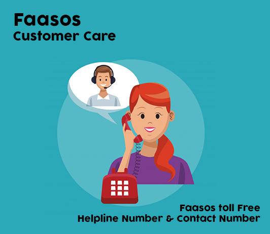 Faasos customer care number