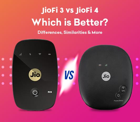 Comparison jiofi3 vs jiofi4