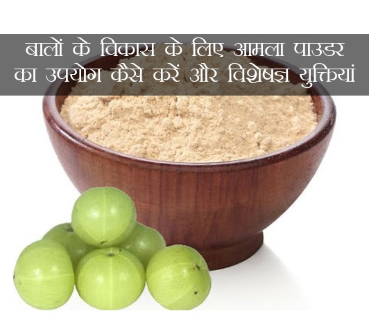 Amla Powder for Hair Growth in hindi