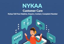 Nykaa Customer Care Numbers: Nykaa Toll Free Helpline, Enquiry, Contact, Complaint Number.
