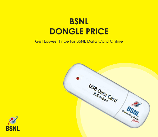 BSNL Dongle Price 2019: Get Lowest Price for BSNL 3G Dongle Data Card Online