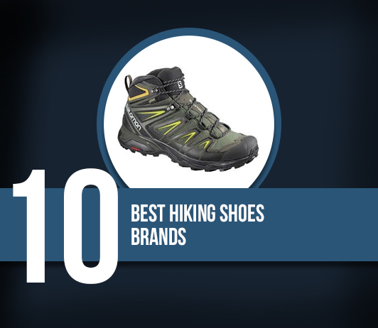10 Best Hiking Shoes Brands