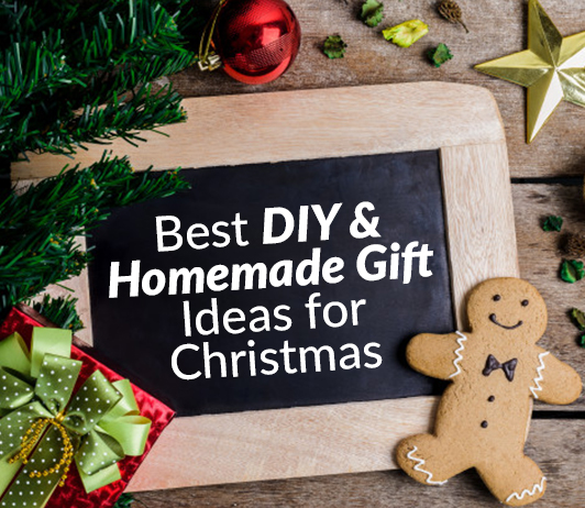 11 Best DIY & Homemade Gift Ideas for Christmas